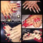 Best Nails - piros fekete