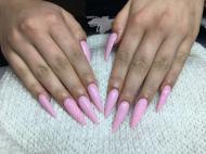 Best Nails - rózsaszin1