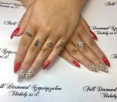 Best Nails - Csillogó piros