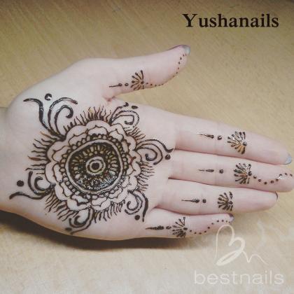 miriam alonso  - Henna Mehndi - 2015-08-03 03:15