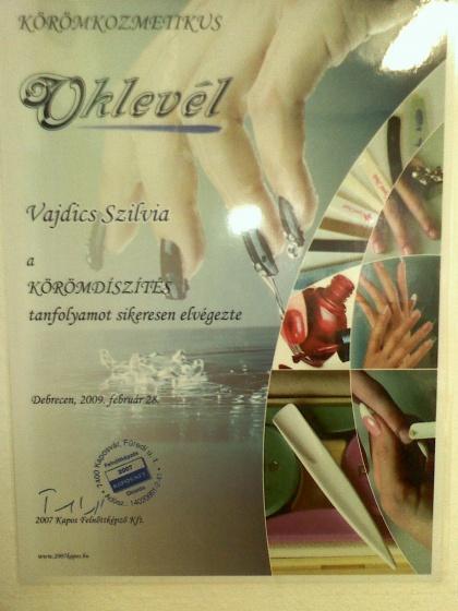 Vajdics Szilvia - Oklevél - 2010-02-22 15:28