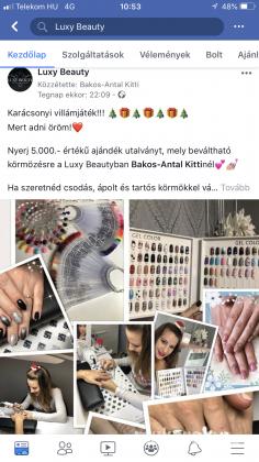 Bakos-Antal Kitti - Játszatok a Luxy Beautyval a Facebookon - 2018-12-06 11:07