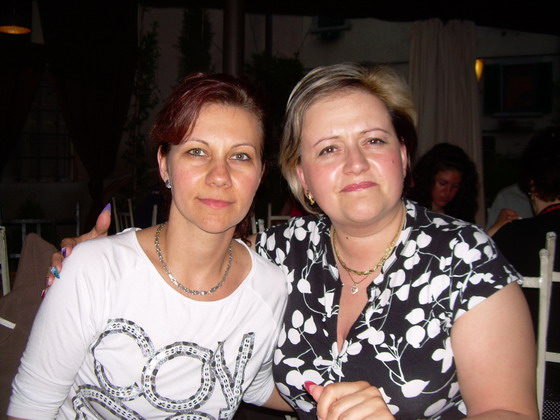 Salamon Erzsébet - drága Móni barátnőmmel Toscánában... - 2009-06-02 22:18