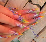 Best Nails - Rainbow