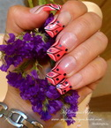 Best Nails - Pink Flower Nails by MyDesigns4You