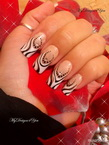 Best Nails - Monochrome French by MyDesigns4You
