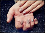 Best Nails - 3d rózsás