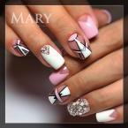 Best Nails - Geometriás
