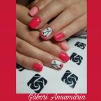Best Nails - Cseresznye minta kezzel festve