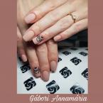 Best Nails - Csipke minta kezzel festve