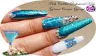 Best Nails - Blue nail art