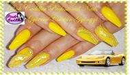 Best Nails - Yellow nail art