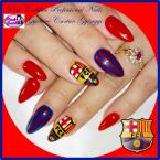 Best Nails - FCB nail art