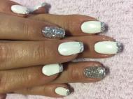 Best Nails - Fehér ezüst