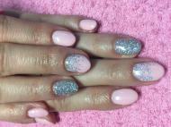 Best Nails - Rózsaszín szürkés