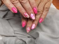 Best Nails - Pink és virág