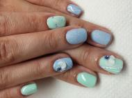 Best Nails - Türkiz és kék