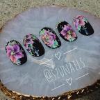 Best Nails - Rainbow flowers