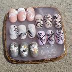 Best Nails - Inda minták