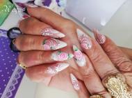 Best Nails - rózsák