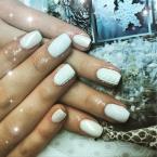 Best Nails - Hófehér pulcsi minta