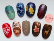 Best Nails - őszi téli minták