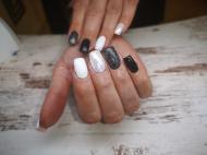 Best Nails - Fekete fehér