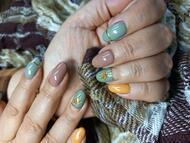 Best Nails - Díszcsíkos többszínű