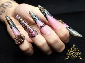 Pink grey love