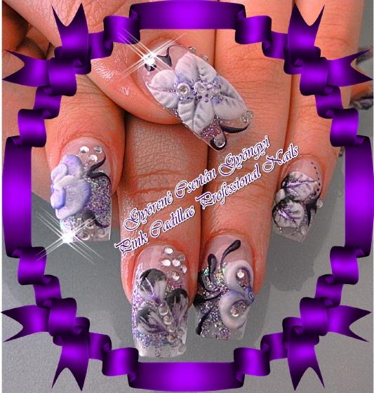 Györené Csertán Gyöngyi - Pink Cadillac Professional Nails Körömszalon - Györené Csertán Gyöngyi - 2010-06-27 20:45