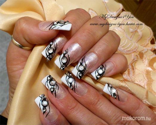Liudmila Zacharova - Black Tie Event Nails by MyDesigns4You - 2013-09-20 18:12