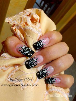 Liudmila Zacharova - Rock Tattoo Nails by MyDesigns4You - 2013-09-20 18:22