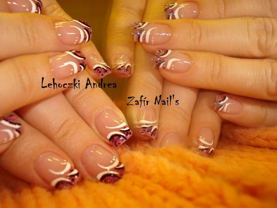 Lehoczki Andrea, Nails Szalon - Lehoczki Andrea - Zafír Nail's - 2009-05-10 11:53