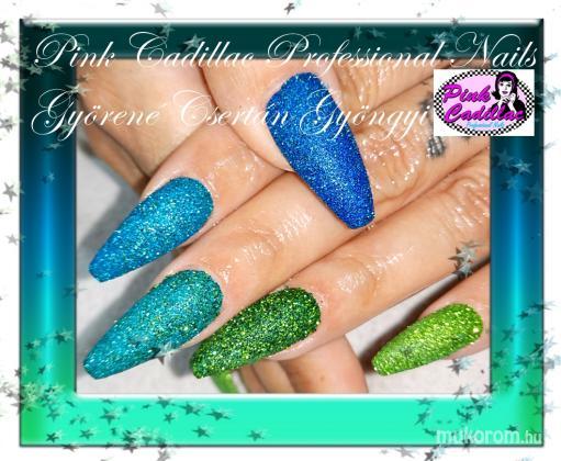 Györené Csertán Gyöngyi - Pink Cadillac Professional Nails Körömszalon - Glitter nail art - 2018-10-19 19:10
