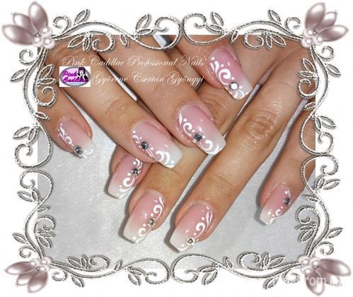 Györené Csertán Gyöngyi - Pink Cadillac Professional Nails Körömszalon - Babyboomer nail art - 2018-10-19 19:11