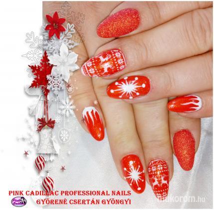 Györené Csertán Gyöngyi - Pink Cadillac Professional Nails Körömszalon - Christmas nail art - 2018-12-30 20:45
