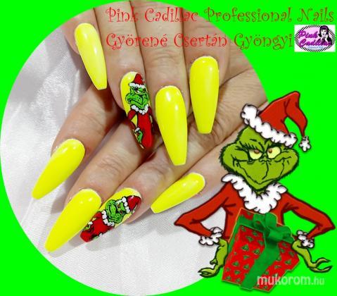 Györené Csertán Gyöngyi - Pink Cadillac Professional Nails Körömszalon - Christmas nail art - 2018-12-30 20:49