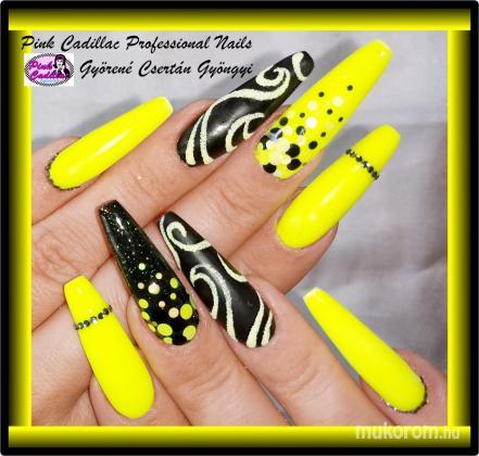 Gyöngyi Györené Csertán - Yellow nail art - 2020-10-03 19:56