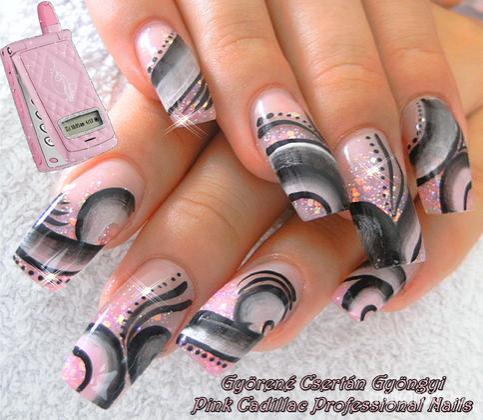 Györené Csertán Gyöngyi - Pink Cadillac Professional Nails Körömszalon - Laurának - 2011-08-28 17:55