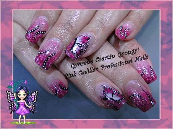 Györené Csertán Gyöngyi - Pink Cadillac Professional Nails Körömszalon - Györené Csertán Gyöngyi - 2009-10-23 20:15