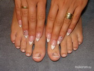Best Nails - Toe nail decoration