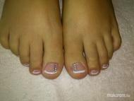 Best Nails - Toe nail decoration