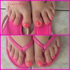 Best Nails - Csupa csillám lábik