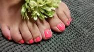 Best Nails - Watermelon feet