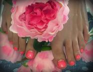 Best Nails - Gél lakk lábon