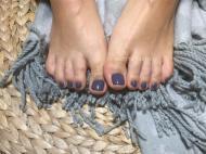 Best Nails - Szürke láb lakk