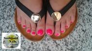Best Nails - Gél lakk lábkörmön