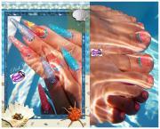 Best Nails - Foot nail art