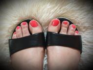 Best Nails - láb gél lakk