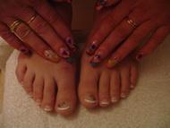 Best Nails - Teljes láb zselézése